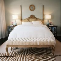 Dormitorios clásicos (¿o eclécticos?).