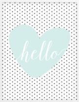 free-printable-wall-art-hello-polka-dot-heart-mint-black-2-400x514
