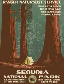 1938-Sequoia-National-Park-vintage-poster-www.freevintageposters.com