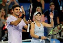 Roger Federer e Belinda Bencic