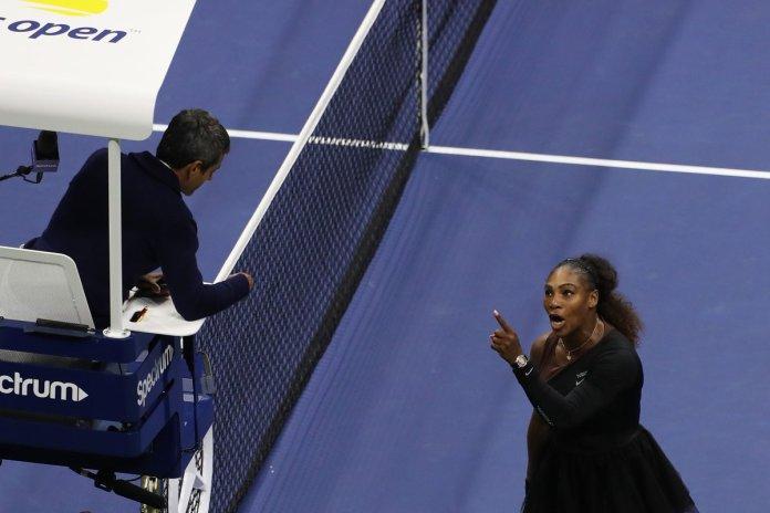 Carlos Ramos Serena Williams 2