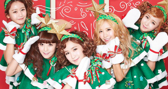 Crayon Pop Christmas 2