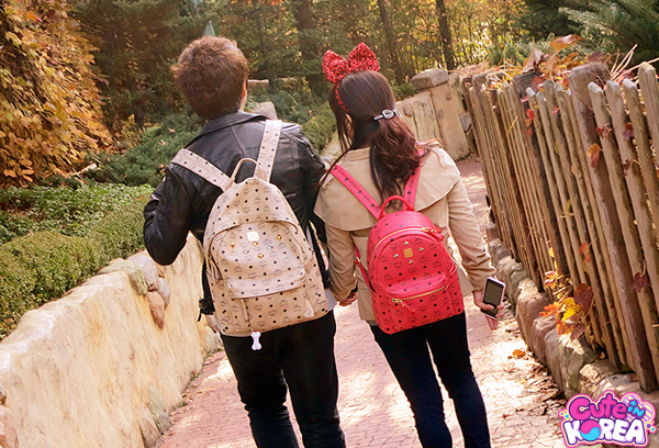MCM Couple Backpack