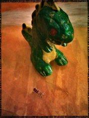 """""""Rarasaur!"""" (Sculpture) - by Grayson Queen (http://graysonqueen.wordpress.com)"""