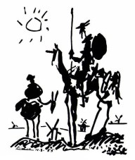 Pablo Picasso - Don Quixote (and his Unicorn)