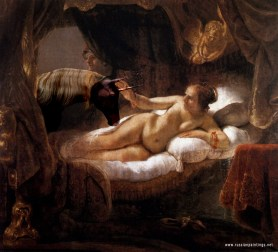 Rembrandt - Danaë (loves her Unicorns)