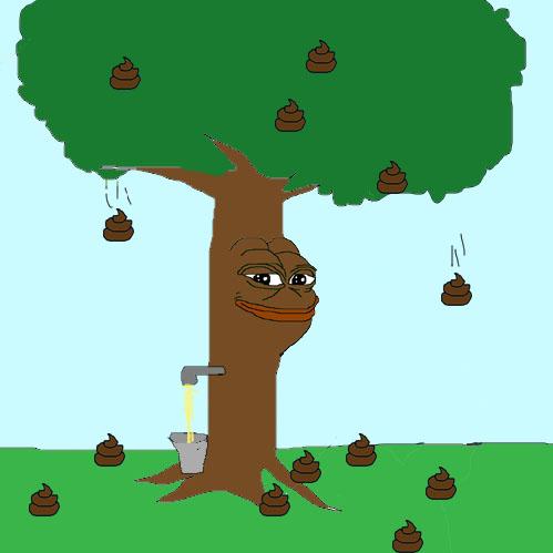 Tree shit pepe