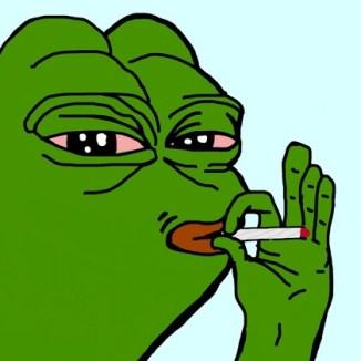 Smoking Pepe