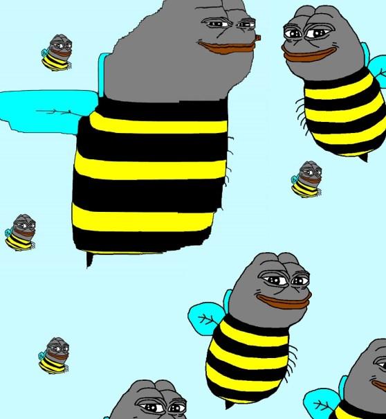 Bumble Bee Pepe