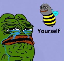 Bee yourself Pepe