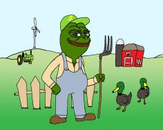 John Deere Farmer Pepe