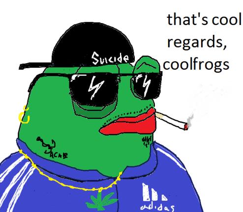 Regards coolfrogs pepe