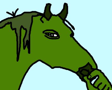 Horse Pepe