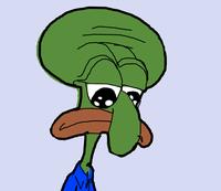 Squidward Pepe