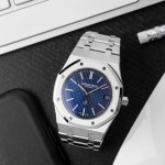 AUDEMARS PIGUET Royal Oak Extra-Thin Jumbo Ref.15202ST.OO.1240ST.01