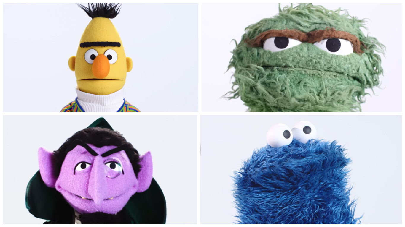 Sesame Street Characters Reading Famous Movie Quotes Is