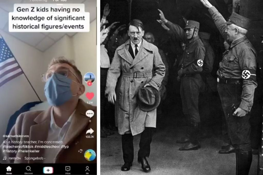 Teacher Shockingly Discovers That His Gen Z Students Don't Know Who Hitler Is