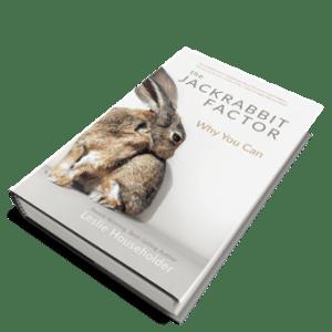 Book: Jackrabbit Factor Hardback with Dust Jacket – NEW!