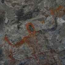 10,000 year old cave painting in Baja Sur