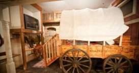 Wild West suite at Anniversary Inn