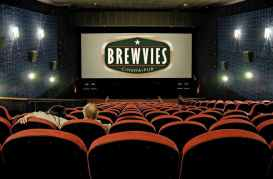 Brewvies (food, beer, and cinema) in Salt Lake City