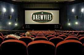 Brewvies (food, beer, and cinema) in Salt Lake City