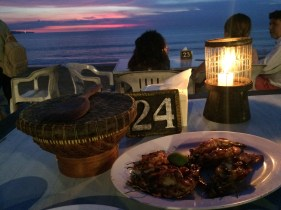 Seafood by Jimbaran beach
