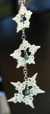 Friendly Plastic Lacework for Christmas Decorations