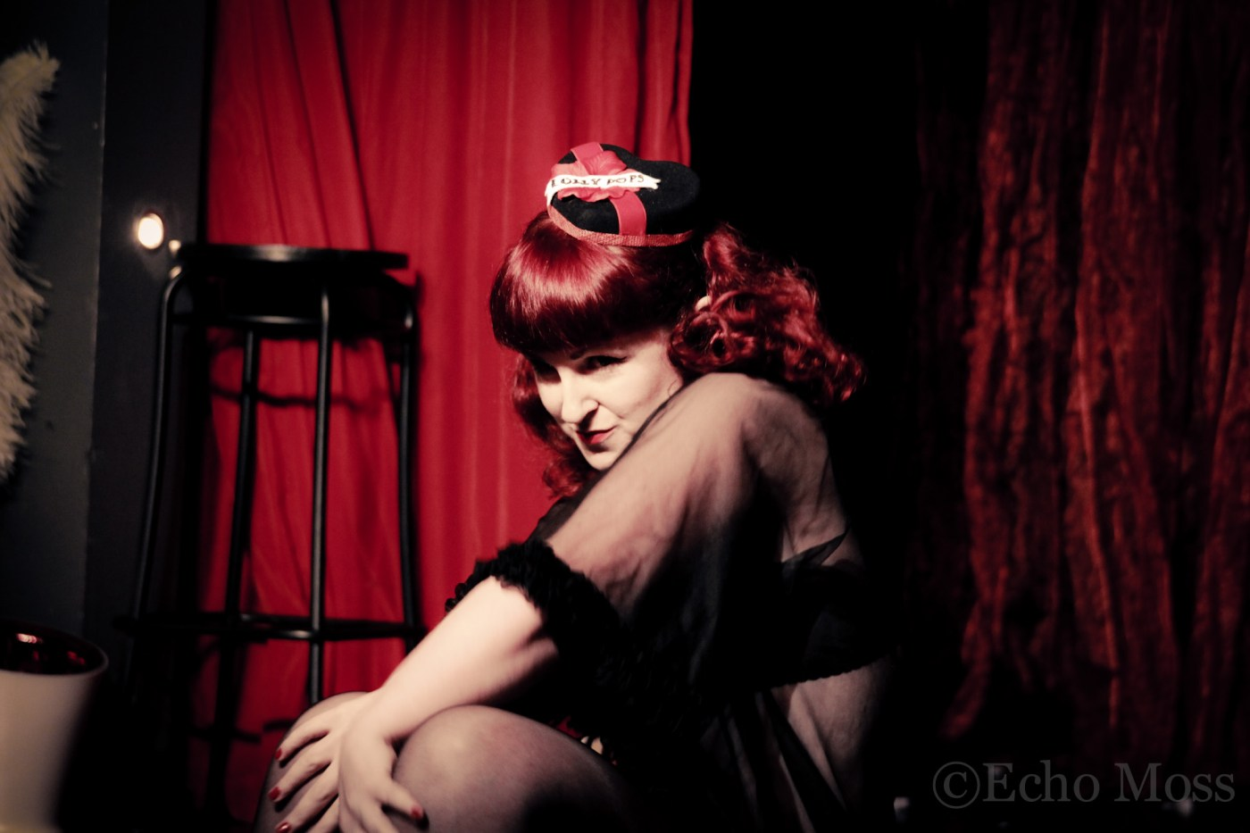 Miss Lolly Pops, photographed by Echo Moss at Barelesque