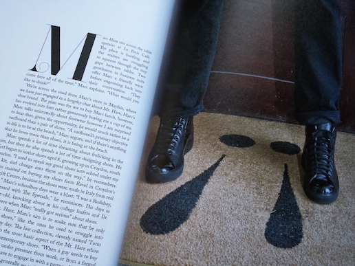 A feature in issue 1 of Wonderment Magazine