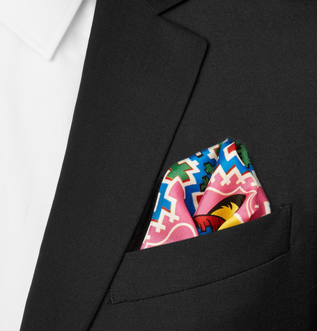 Turnbull & Asser Pocket Square from Mr Porter