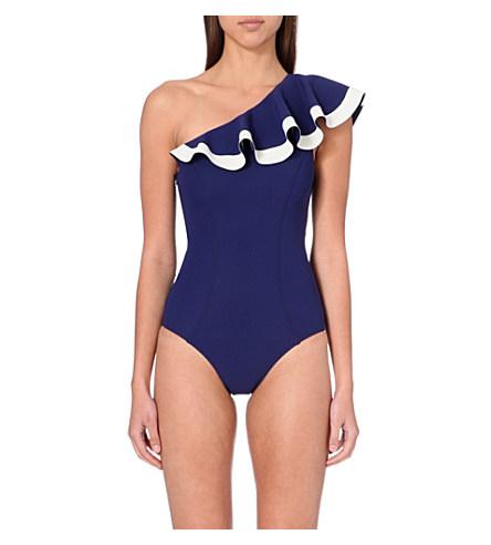 Lisa Marie Fernandez's Arden Flounce maillot swimsuit