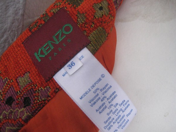 Vintage Kenzo Skirt, via Housing Works Thrift Shops' Flickr photostream