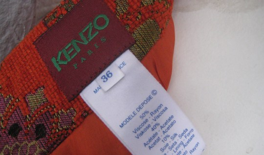 Vintage Kenzo Skirt, via Housing Works Thrift Shops' Flickr photostream
