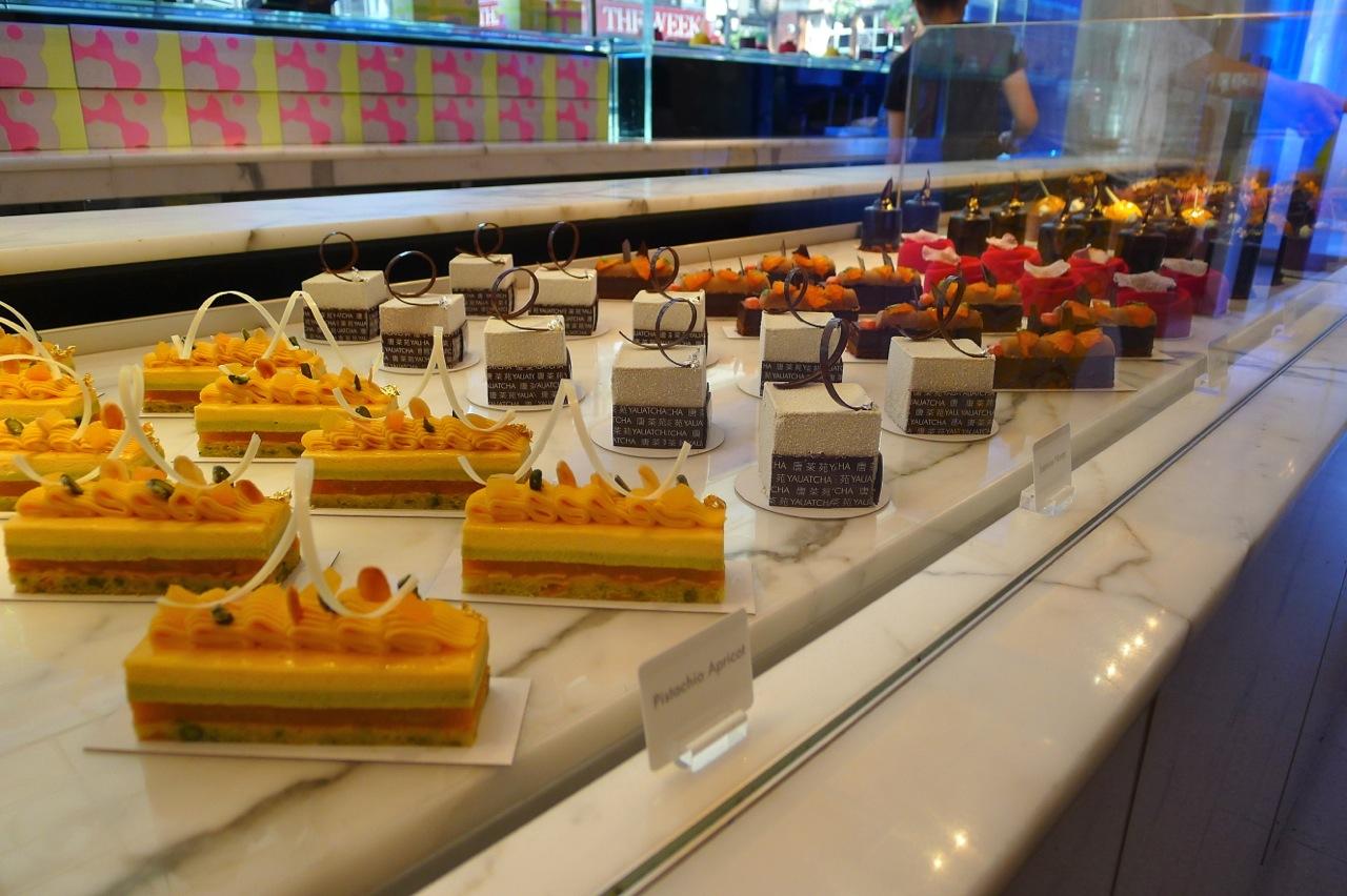 Yauatcha cakes. Image via via Hungry Hoss food blog