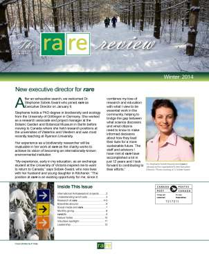 The rare Review_Winter 2013_front page