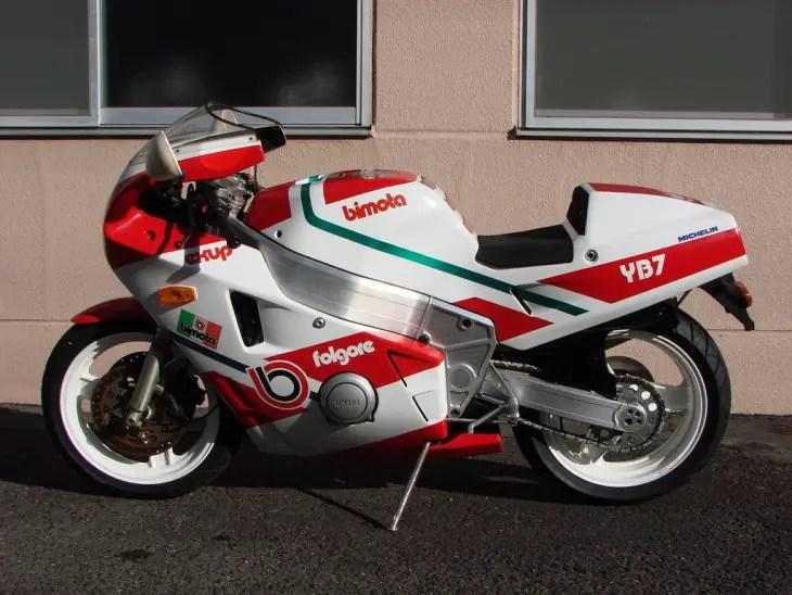 1988 Bimota YB7 L Side
