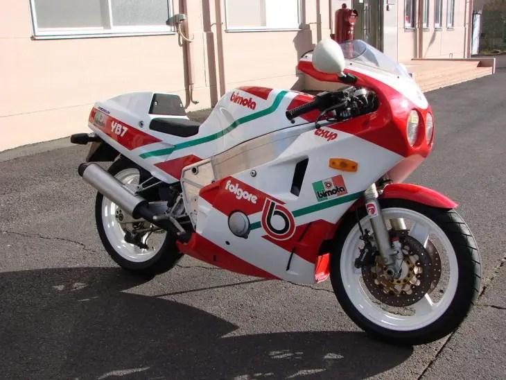 1988 Bimota YB7 R Side Front