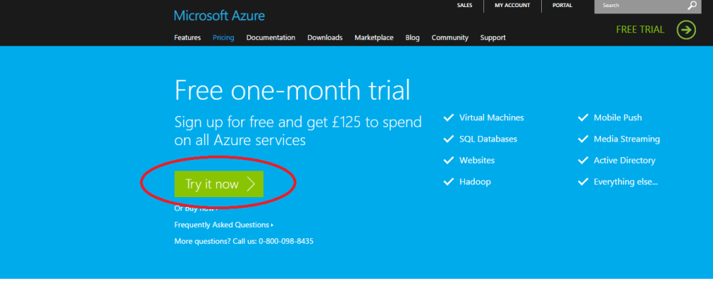 AZURE SQL SERVER - How to create server and database (1/6)
