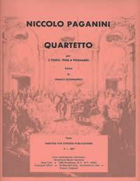 Paganini, Niccolo (Sciannameo)String Quartet in E Major for Two Violins, Viola & Cello