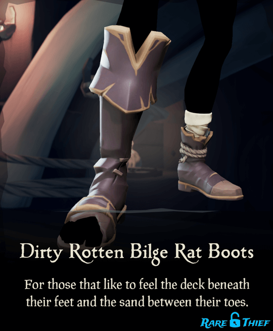 Dirty Rotten Bilge Rat Boots