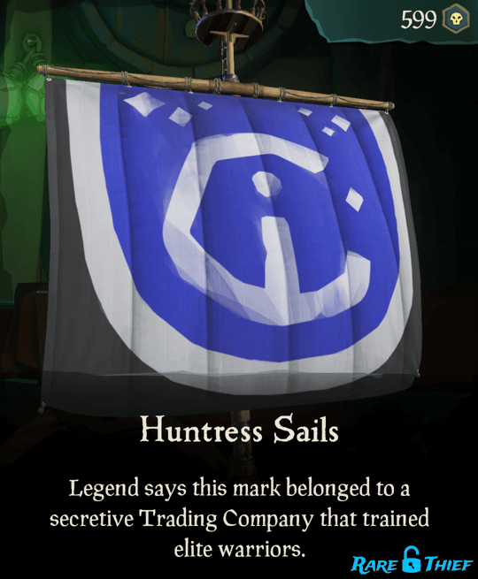 Huntress Sails