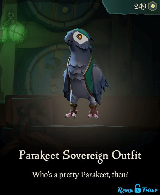 Parakeet Sovereign Outfit