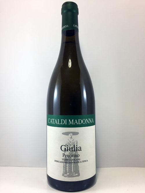 Cataldi Madonna Pecorino Giulia Terre Aquilane Bianco IGT