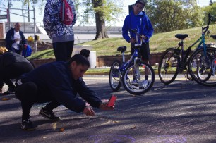 Chalk artists (2)