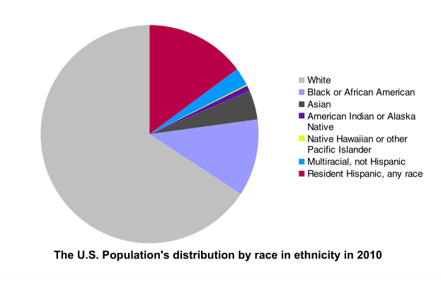 Us Population Race Chart