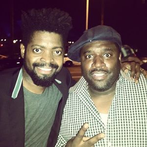 COREY HOLMES AND BASKETMOUTH