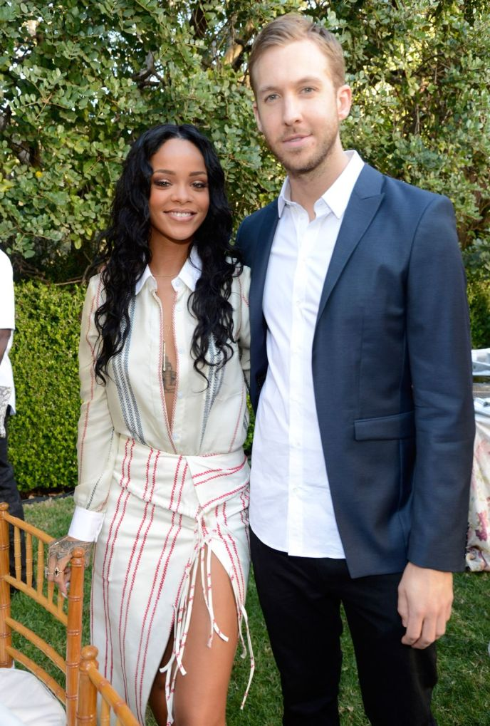Rihanna & Calvin Harris, Getty Images