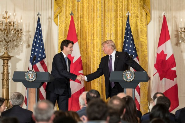 Trudeau and Trump
