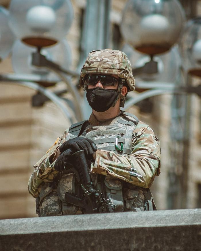 Soldat covid